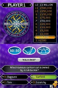 Who Wants To Be A Millionaire - 2nd Edition (E)(XenoPhobia) Screen Shot