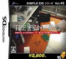 Simple DS Series Vol. 45 - The Misshitsu Kara no Dasshutsu 2 (J)(Independent) Box Art
