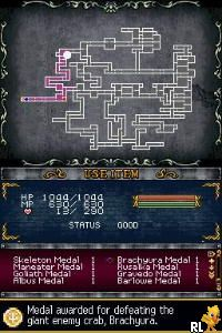 Castlevania - Order of Ecclesia (E)(GUARDiAN) Screen Shot