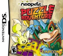 Neopets Puzzle Adventure (U)(Sir VG) Box Art