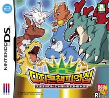 Digimon Championship (K)(CoolPoint) Box Art