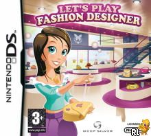 Let's Play Fashion Designer (E)(EXiMiUS) Box Art