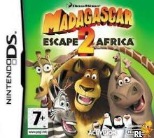 Madagascar - Escape 2 Africa (EU)(BAHAMUT) Box Art