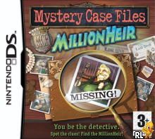 Mystery Case Files - MillionHeir (EU)(M5)(XenoPhobia) Box Art
