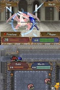 Fire Emblem - Shadow Dragon (US)(Micronauts) Screen Shot