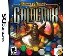 Puzzle Quest - Galactrix (US)(M5)(XenoPhobia) Box Art