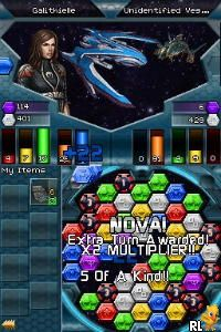 Puzzle Quest - Galactrix (US)(M5)(XenoPhobia) Screen Shot