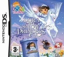 Dora The Explorer - Dora Saves the Snow Princess (EU)(EXiMiUS) Box Art