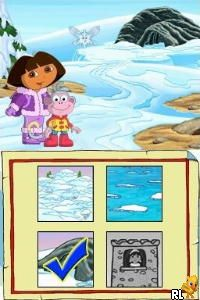 Dora The Explorer - Dora Saves the Snow Princess (EU)(EXiMiUS) Screen Shot