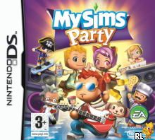 MySims - Party (EU)(M7)(BAHAMUT) Box Art