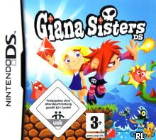 Giana Sisters DS (EU)(M5)(Independent) Box Art