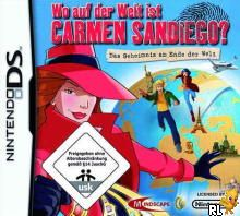 Where in the World is Carmen Sandiego (EU)(M2)(Independent) Box Art