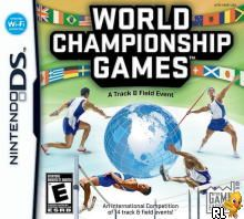 World Championship Games - A Track and Field Event (US)(M3)(1 Up) Box Art