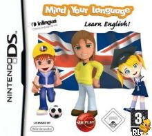 Mind Your Language - Learn English! (EU)(M6)(EXiMiUS) Box Art
