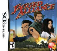 Jagged Alliance (US)(1 Up) Box Art
