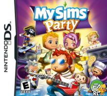 MySims - Party (US)(M3)(1 Up) Box Art