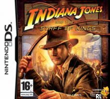 Indiana Jones and the Staff of Kings (EU)(M5)(BAHAMUT) Box Art