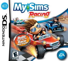 MySims - Racing (US)(M3)(PYRiDiA) Box Art