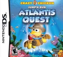 Crazy Chicken - Jump'n Run - Atlantis Quest (US)(M5)(BAHAMUT) Box Art