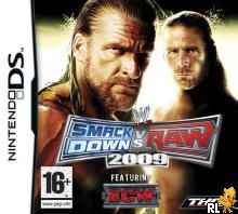 WWE SmackDown vs Raw 2009 featuring ECW (EU)(BAHAMUT) Box Art