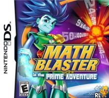 Math Blaster in the Prime Adventure (US)(OneUp) Box Art