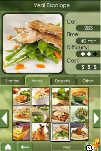 My Cooking Coach - Prepare Healthy Recipes (DSi Enhanced) (EU)(BAHAMUT) Screen Shot