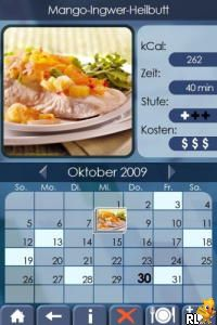 Mein Koch-Coach - Gesund und Lecker Kochen (DSi Enhanced) (DE)(Independent) Screen Shot