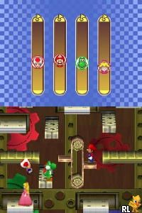 Mario Party DS (v02) (JP)(BAHAMUT) Screen Shot