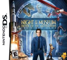 Night at the Museum - Battle of the Smithsonian - The Video Game (US)(Suxxors) Box Art