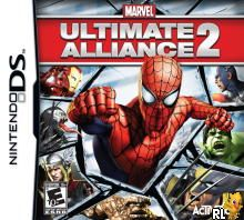 Marvel Ultimate Alliance 2 (US)(XenoPhobia) Box Art