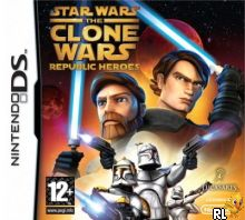 Star Wars - The Clone Wars - Republic Heroes (EU)(M5)(BAHAMUT) Box Art