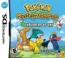 Pokemon Mystery Dungeon - Explorers of Sky (US)(XenoPhobia) Box Art