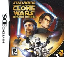 Star Wars The Clone Wars - Republic Heroes (US) Box Art