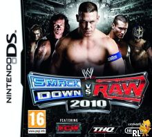 WWE SmackDown vs Raw 2010 featuring ECW (EU)(M5) Box Art