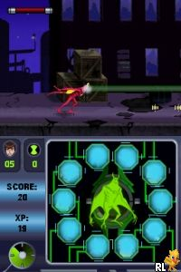 Ben 10 - Alien Force - Vilgax Attacks (US)(M5) Screen Shot