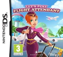 Let's Play Flight Attendant (EU)(M5) Box Art