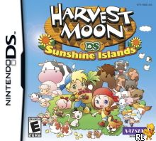Harvest Moon DS - Sunshine Islands (US)(OneUp) Box Art