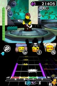 LEGO - Rock Band (EU)(M6)(BAHAMUT) Screen Shot