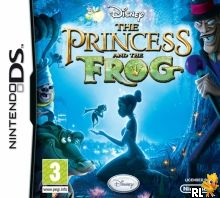 Princess and the Frog, The (EU)(M6)(BAHAMUT) Box Art