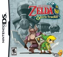 Legend of Zelda - Spirit Tracks, The (US)(M3)(XenoPhobia) Box Art