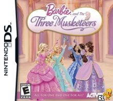 Barbie and the Three Musketeers (US)(BAHAMUT) Box Art