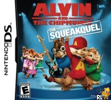 Alvin and the Chipmunks - The Squeakquel (US)(XenoPhobia) Box Art