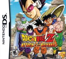Dragon Ball Z - Attack of the Saiyans (US)(M2)(BAHAMUT) Box Art