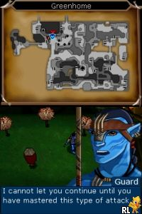 James Cameron's Avatar - The Game (DSi Enhanced) (EU)(M6)(XenoPhobia) Screen Shot