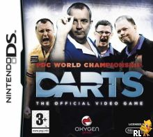 PDC World Championship Darts - The Official Video Game (EU)(M6)(OneUp) Box Art