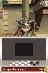 Assassin's Creed II - Discovery (DSi Enhanced) (EU)(M9)(Venom) Screen Shot