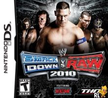 WWE SmackDown vs Raw 2010 featuring ECW (U) Box Art