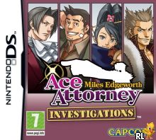 Ace Attorney Investigations - Miles Edgeworth (E) Box Art