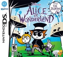 Alice in Wonderland (DSi Enhanced) (U) Box Art