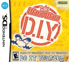 WarioWare - D.I.Y. (U) Box Art